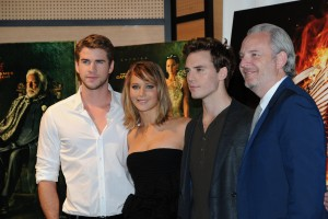 Jennifer Lawrence The Hunger Games Catching Fire Photocall 34