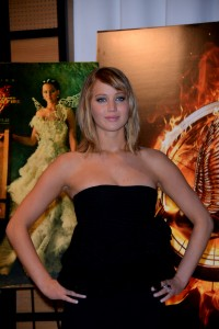 Jennifer Lawrence The Hunger Games Catching Fire Photocall 8