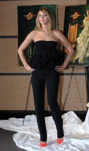 Jennifer Lawrence The Hunger Games Catching Fire Photocall 14