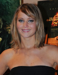 Jennifer Lawrence The Hunger Games Catching Fire Photocall 2