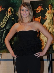 Jennifer Lawrence The Hunger Games Catching Fire Photocall 6