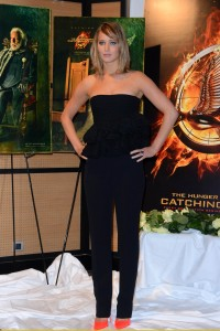 Jennifer Lawrence The Hunger Games Catching Fire Photocall 18