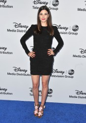 Meghan Ory - Disney Media Networks International Upfronts in Burbank 5/19/13