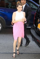 Emma Roberts - out in NYC 5/20/13