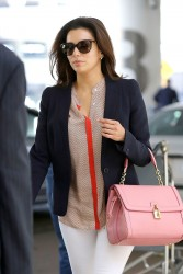 Eva Longoria - at LAX Airport 5/20/13