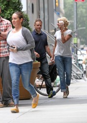 Cameron Diaz - on the set of 'The Other Woman' in NY 5/22/13