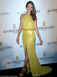 Alessandra Ambrosio - Di Grisogono party at Cannes 5/21/13
