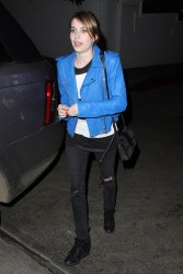 Emma Roberts - leaves the Chateau Marmont in Hollywood 5/24/13