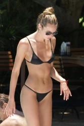 Bikini Candids at a Pool