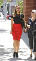 Arielle Kebbel - out in Beverly Hills 5/21/13