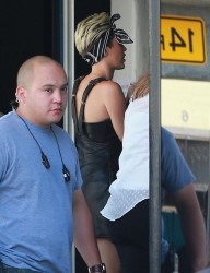 Miley Cyrus - arrives to a music video shoot in LA 5/27/13