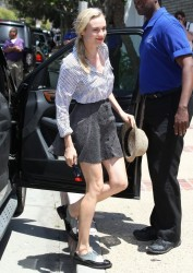 Diane Kruger - at a Memorial Day party in Malibu 5/27/13