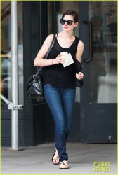 Anne Hathaway - out in NYC 5/28/13