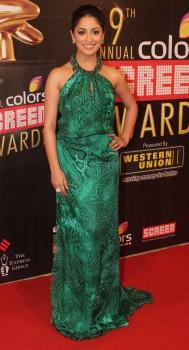 Yami Gautam - 19th Annual Colors Screen Awards in Mumbai on January 13, 2013