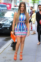 Khloe Kardashian - Out and about in NYC 5/29/13