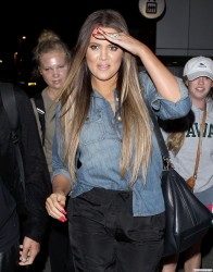 Khloe Kardashian - Arriving to LAX Airport 5/29/13
