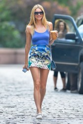 Jessica Hart - out in NYC 5/30/13