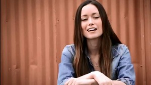 Summer Glau celebrates wind energy in Texas