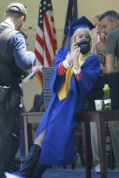 Emma Stone - on the set of 'The Amazing Spider-Man 2' in NYC 6/1/13