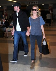 Emily Blunt - at JFK Airport in NYC 6/2/13