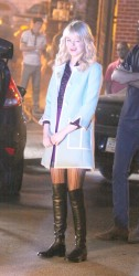 Emma Stone - on the set of 'The Amazing Spider-Man 2' in NYC 6/3/13