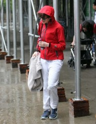 Anne Hathaway - out in NYC 6/7/13