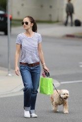 Minka Kelly - Out in Beverly Hills 6/7/13