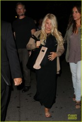 Jessica Simpson - Out in Hollywood 6/7/13