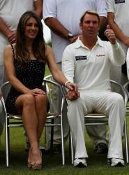Elizabeth Hurley ~ Circenster Cricket Club  Cirencester, UK, June 9
