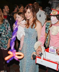 Alyson Hannigan - at The Sweet Suite at Avalon in Hollywood 6/8/13