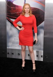 Molly Quinn - 'Man of Steel' premiere in NYC 6/10/13