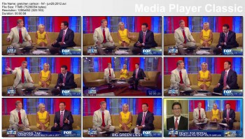 GRETCHEN CARLSON legs - fnf - june 29, 2012