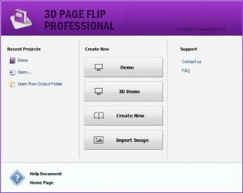 Portable 3D PageFlip Standard v268