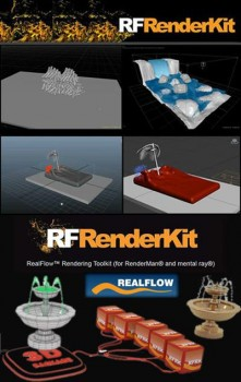 NextLimit RealFlow RenderKit 2.5.27.4 Plugin for 3ds Max