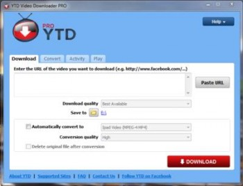 YTD Video Downloader PRO v4.1.0 build 20130513 Incl Crack - [MAHIY]