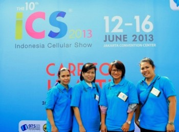 panitia indonesia cellular show 2013