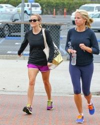 Reese Witherspoon - at the gym in Brentwood 6/14/13