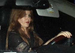 Isla Fisher - at Courteney Cox's birthday party in Santa Monica 6/15/13