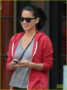 Olivia Munn Leaving her Hotel in NYC 6/16/13