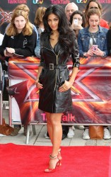Nicole Scherzinger - X Factor auditions in London 6/19/13