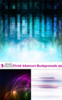 Vectors - Vivid Abstract Backgrounds 53