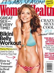 Maria Menounos in Women's Health - July/August 2013