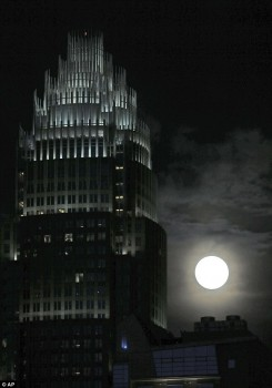 Supermoon bank of america