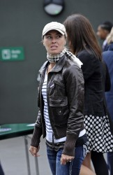 Martina Hingis - at the Wimbledon Lawn Tennis Club 6/24/13