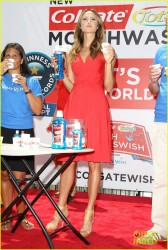 Stacy Keibler - 2013 A Wish for a Swish benefit in NYC 6/25/13
