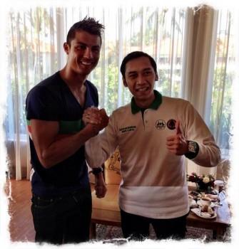 Cristiano ronaldo dan ibas yudhoyono