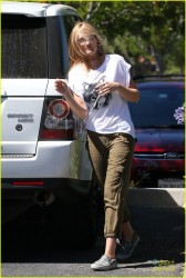 Amanda AJ Michalka - out in Calabasas 6/27/13