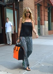 Heidi Klum - out in NYC 6/29/13