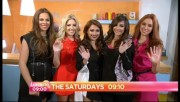 The Saturdays - Lorraine 1st July 2013 576p