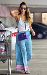 Jessica Alba - out in Beverly Hills 6/30/13
